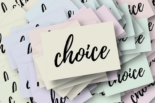 Mon journal lunaire du 6 janvier 2020 – Le choix –